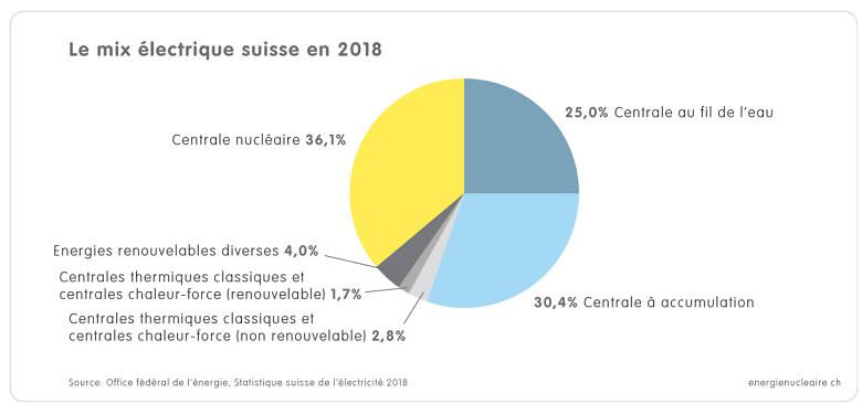 1 1 3a Grafik CH Strommix 2018 f