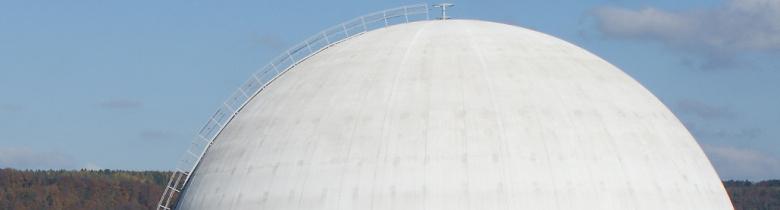 Reaktorgebäude KKL  Kuppel