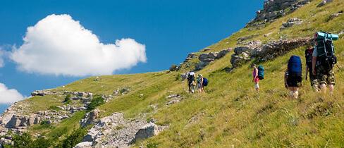 Alpen Wandern