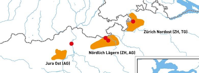 Geologische Standortgebiete Etappe 2 HAA