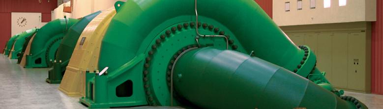 Maschinenhalle Kraftwerk Grimsel 2  KWO